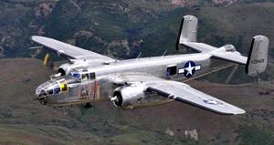 B-25 plane